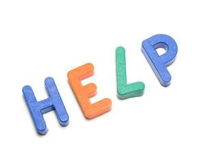 Help, alphabet, the ABC