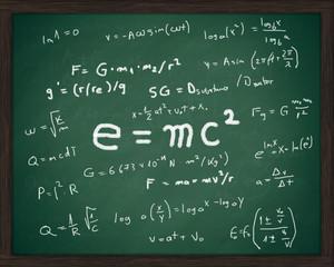 Chalkboard formulas