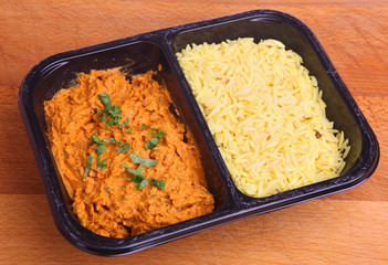 Indian Curry Ready Meal