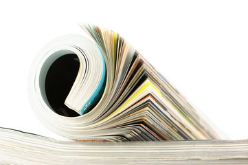 Rolled magazine