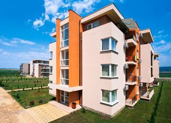 Здание в курортном комплексе. Болгария.
