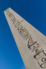 Obelisk of Theodosius from Istanbul, Turkey