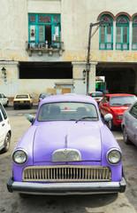 Foto op Aluminium Cubaanse oldtimers Havana, Cuba. Street scene.