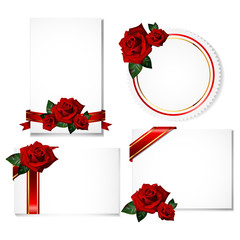 greeting cards with rose