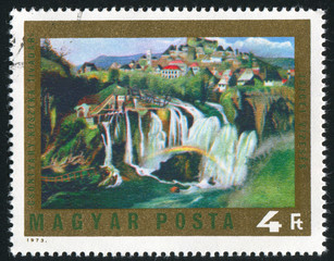 Waterfall at Jajce