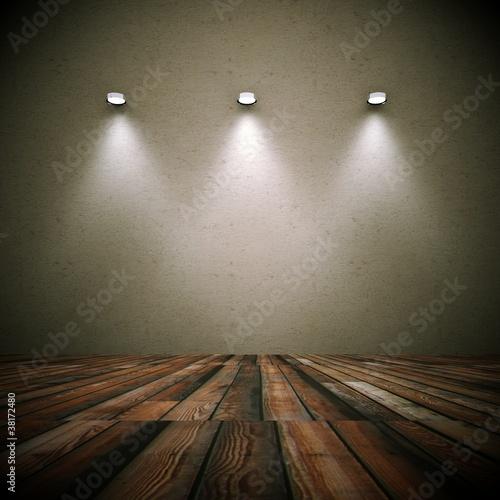 Wohndesign dekowand grunge mit lampen 1 stockfotos und for Wohndesign lampen