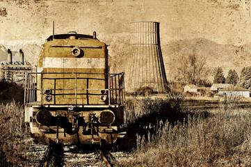vecchio locomotore, un salto nel passato