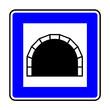 Verkehrsschild - 327 Tunnel