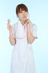 Beautiful asian nurse