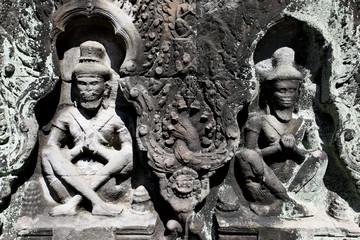 Khmer stone carving