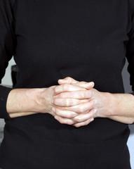 Image of praying hands