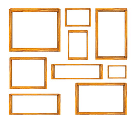 wood frames set