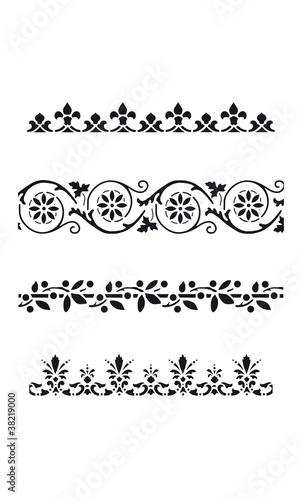 Bordo Stencil 002 Immagini E Vettoriali Royalty Free Su Fotoliacom