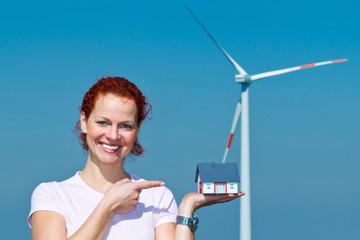 energiesparen durch windkraft