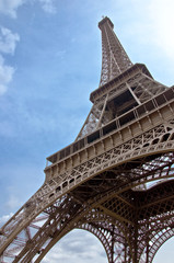 Eiffel Tower. The symbol of Paris and France