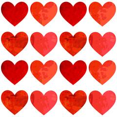 Love. Heart background. Pattern.