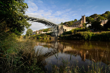 Ironbridge Shropshire – First Cast Iron Bridge