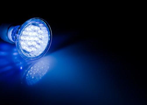 Beam of led lamp