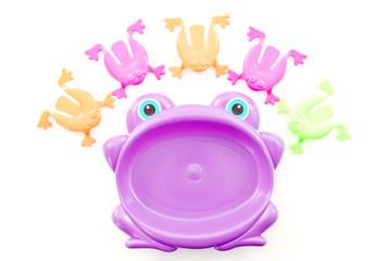 Fun Jumping Frog Game Set