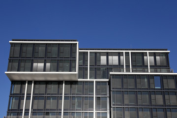 futuristischer Bürokomplex