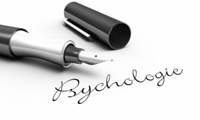 Psychologie - Stift Konzept