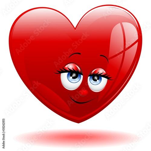 Quot cuore fumetto sorriso heart love cartoon smile vector
