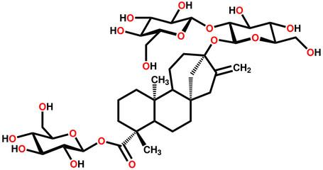 Stevioside structural formula