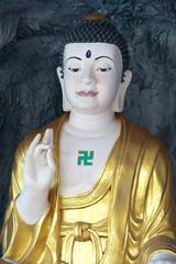 White Buddha in Hua Hin