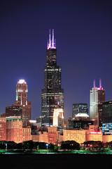 Fototapete - Chicago Willis tower