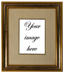 Double framed picture frame