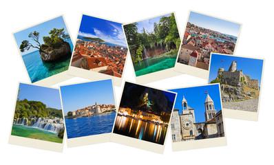 Stack of Croatia travel photos