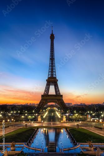 Sticker Tour Eiffel Paris France