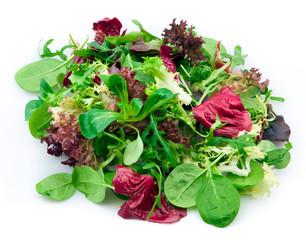Fototapete - Mixed lettuce