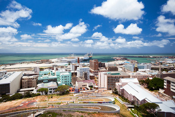 Türaufkleber Südafrika cityscape of Port Elizabeth, South Africa