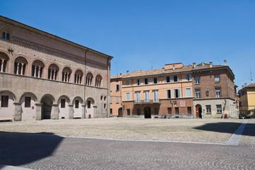 Bishop's palace. Parma. Emilia-Romagna. Italy.