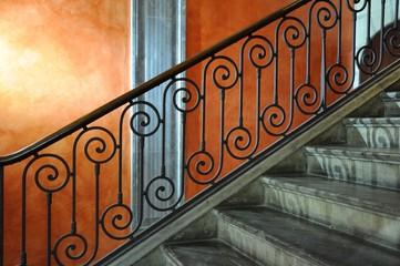 escalier et rampe