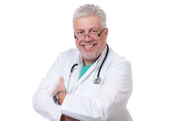 glücklicher mediziner