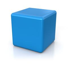 cube 3d render illustration