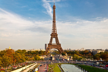 Tour Eiffel vue du Trocadero