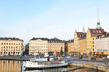 Stockholm quays