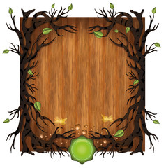 raster Bio background Wood