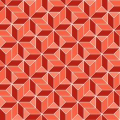 seamless geometric 3d abstract pattern