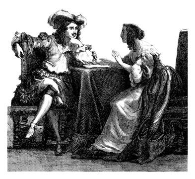 Pair 17th century