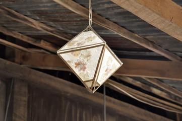 Decorate Paper Lamp Hang Cube