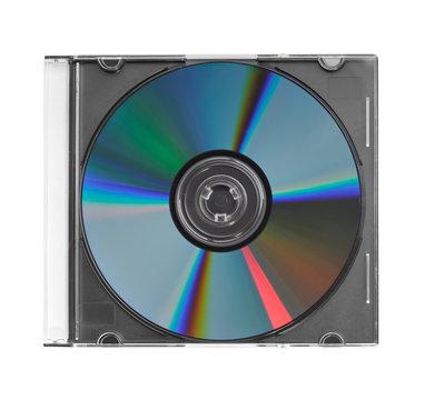 CD in plastic case