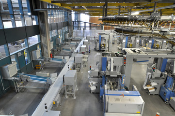 Versandabteilung Druckerei // shipping department