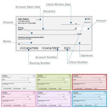 Blank Check Diagram