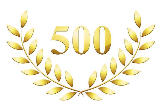 Lauriers 500 en or