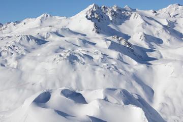 Winterlandschaft im Hochgebirge