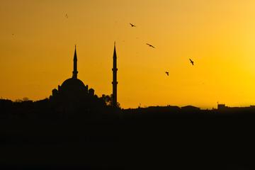 Mosque Sunset